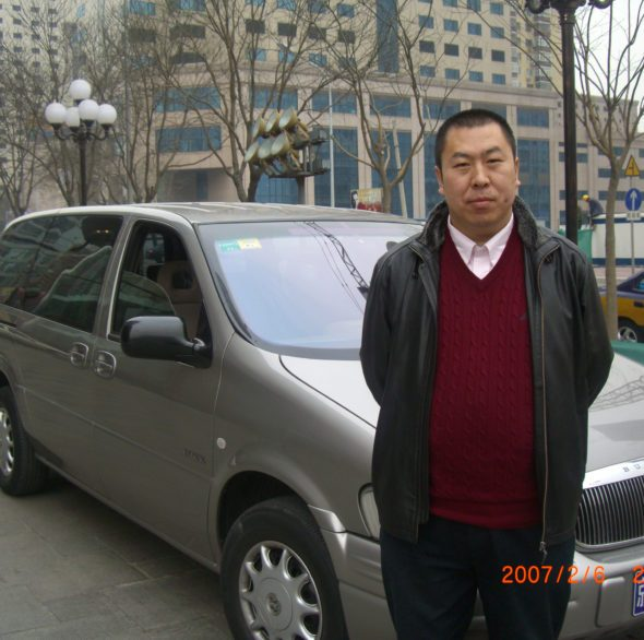 William Taxi Driver in Beijing